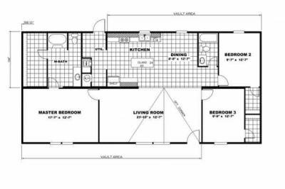 Mobile Home at 2038 Reese Harmon Ridge Rock, WV 24747