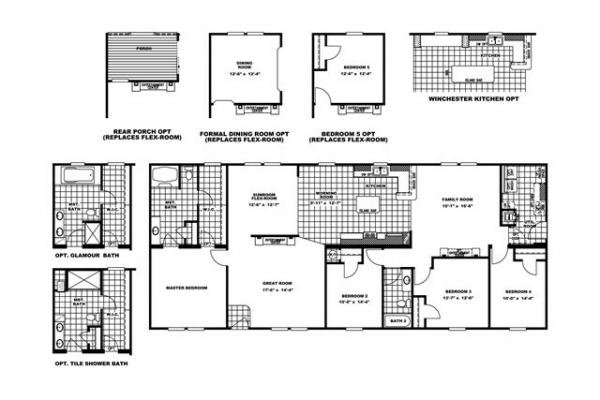 Mobile Home at 1230 CONOVER BLVD W, Conover, NC