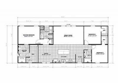 Mobile Home at 38466 Old Hwy 58 East La Crosse, VA 23950