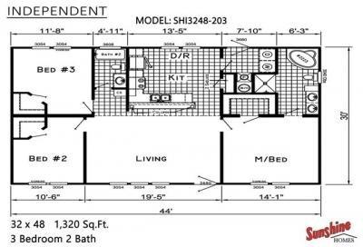 Mobile Home at 5312 David Lane Jarreau, LA 70749