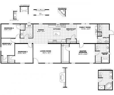 Mobile Home at 2680 South Live Oak Drive Moncks Corner, SC 29461