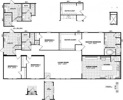 Mobile Home at 4180 Fm 2502 Burton, TX 77835