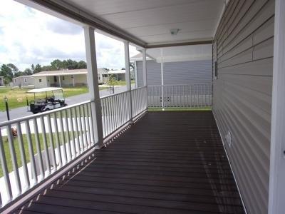 Spacious Composite Decking Porch