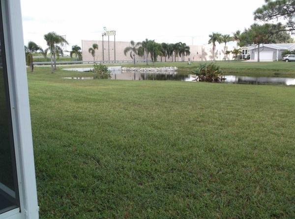 Big back yard