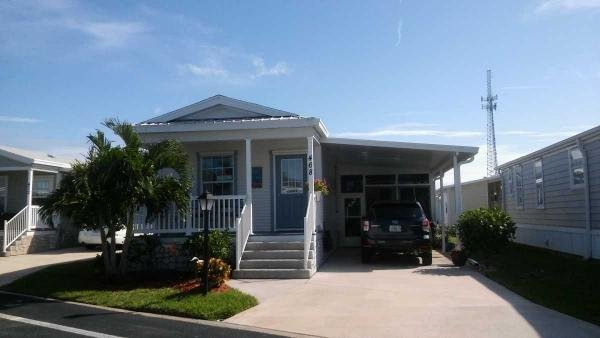 Mobile Home at 468 Norwich Lane, Melbourne Beach, FL