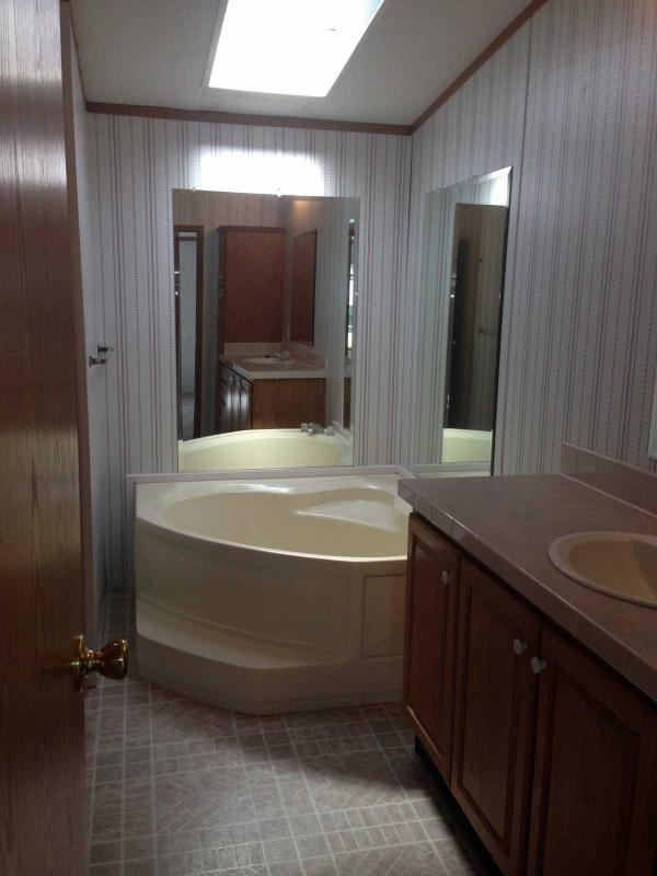 Beautiful soaker tub