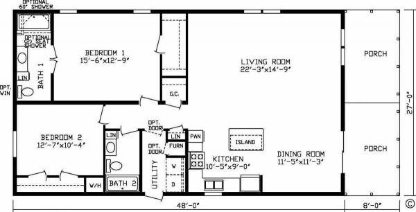 Two or three bedroom plans