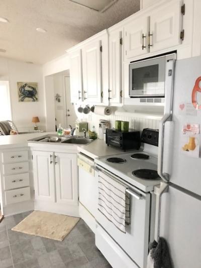 kitchen from hallway