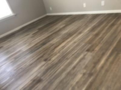Luxury LVT flooring