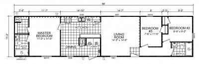 Mobile Home at 84 Normady Drive Howell, MI 48843