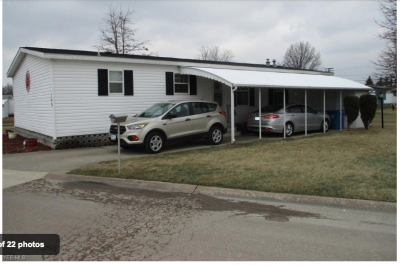 Mobile Home at 149 Gull Drive Elyria, OH 44035