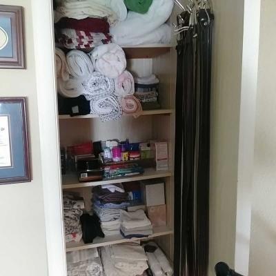 Master Linen Closet