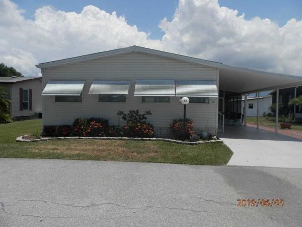 Mobile Home at 5707 45th Street East Unit # 63, Bradenton, FL