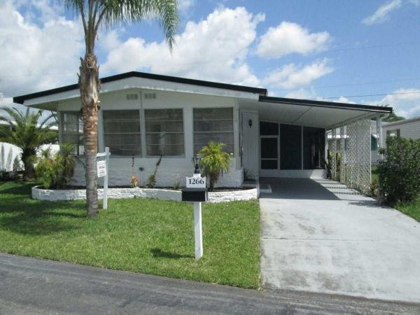 Mobile Home at 1266 Pilgrim Place, Daytona Beach, FL