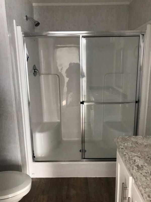 Master Standing Shower