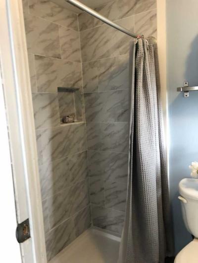 New Oversized Shower
