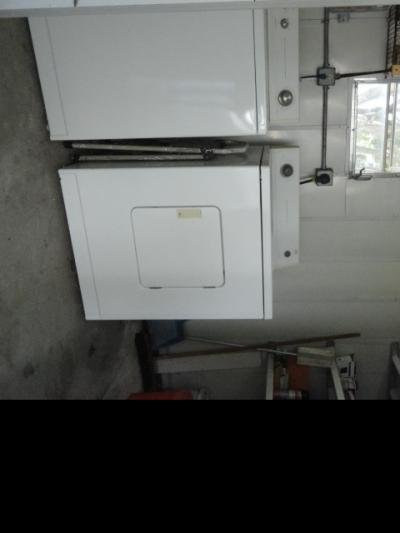 Washer/Dryer/Shed