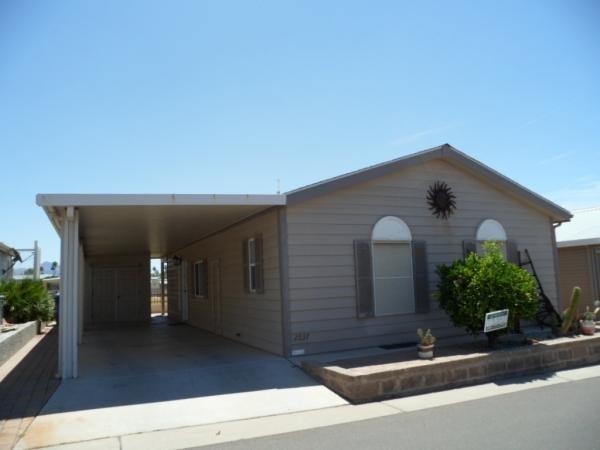 Mobile Home at 650 N. Hawes Rd. #2837, Mesa, AZ