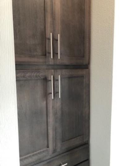 Pantry in laundry room