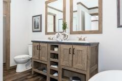 Double Vanities in Master Bath