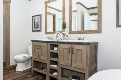 Double Vanities in Master Bath
