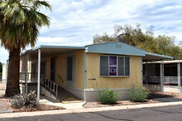 Mobile Home at 2609 W. Southern Ave #264, Tempe, AZ