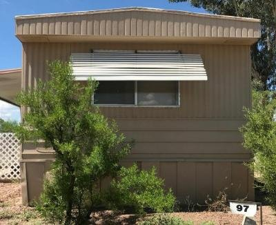 Mobile Home at 1402 WEST AJO WAY, #97 Tucson, AZ 85713
