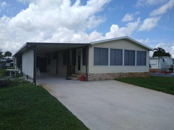 Mobile Home at 6829 41 st drive, Palm Beach Shores, FL