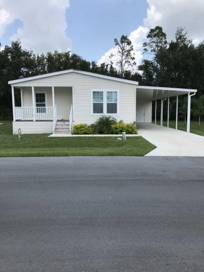 Mobile Home at 8327 Wagon Wheel Circle North Fort Myers, FL 33917