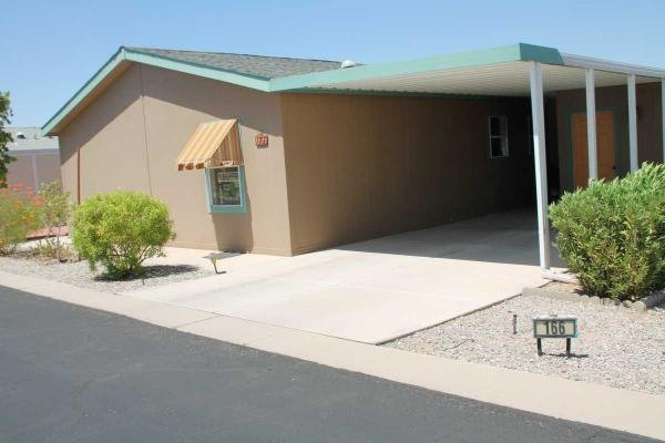 Mobile Home at 11322 S. Ave 12E #166, Yuma, AZ