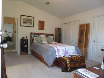 Master Bedroom, abd a back door