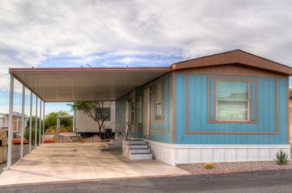 Mobile Home at 17065 E PEAK LANE #186, Picacho, AZ