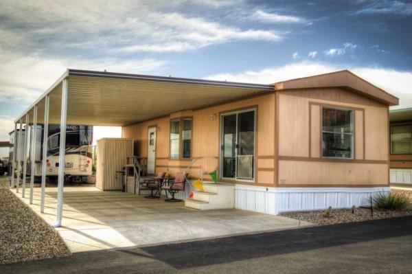 Mobile Home at 17065 E PEAK LANE #187, Picacho, AZ