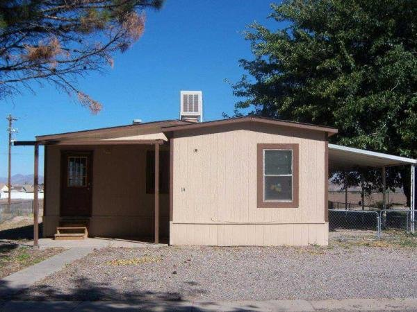Mobile Home at 1600 Highway 70 Sp. 14, Safford, AZ