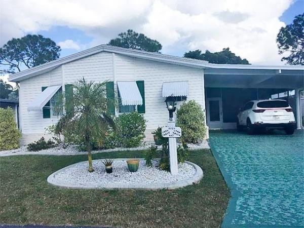 Mobile Home at 19764 COTTONFIELD RD. #447, North Fort Myers, FL