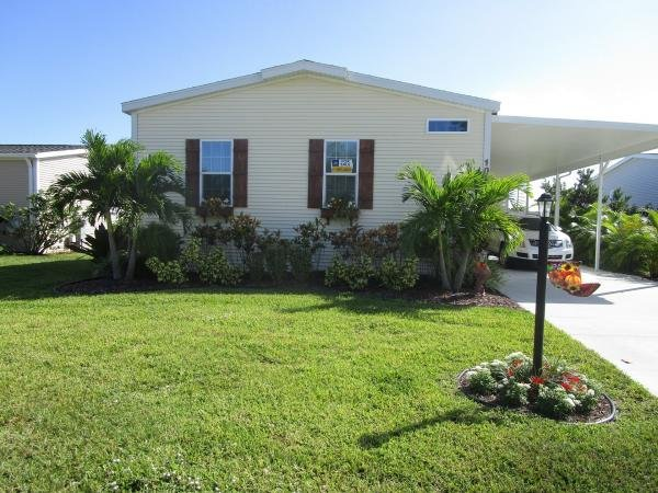 Mobile Home at 1087 WEST LAKEVIEW DRIVE, Sebastian, FL