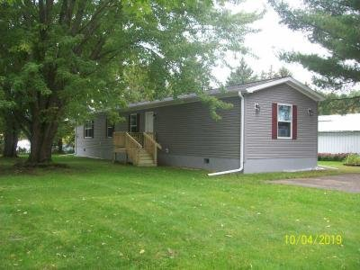 Mobile Home at 241 Sixth Street NW Lot #12 Clear Lake, WI