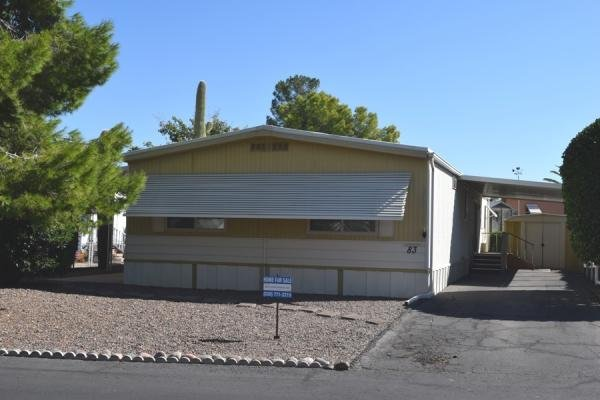 Mobile Home at 2121 S. Pantano Rd #83, Tucson, AZ