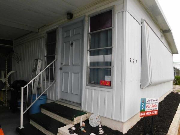 Mobile Home at 967 Posadas East, Venice, FL