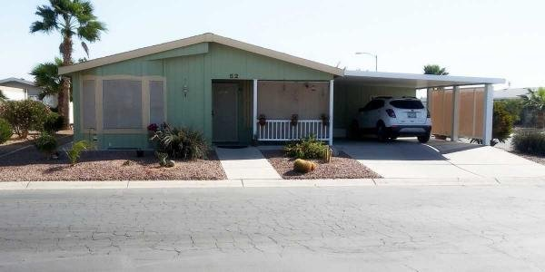 Mobile Home at 155 E. Rodeo Rd. #52, Casa Grande, AZ