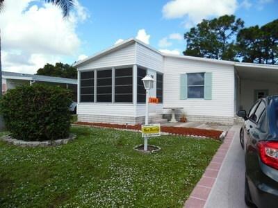 Mobile Home at 348 Tropical Isles Cir Fort Pierce, FL 34982