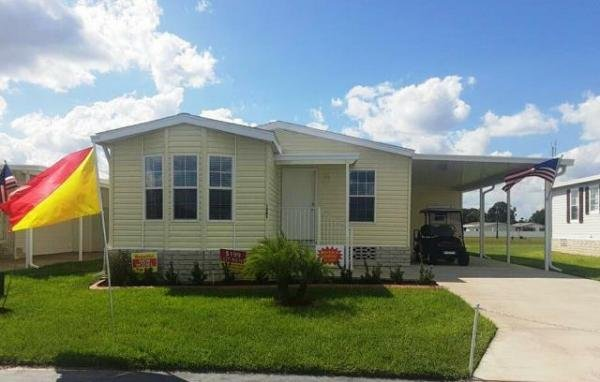 Mobile Home at 1360 Whispering Pines Drive, Frostproof, FL