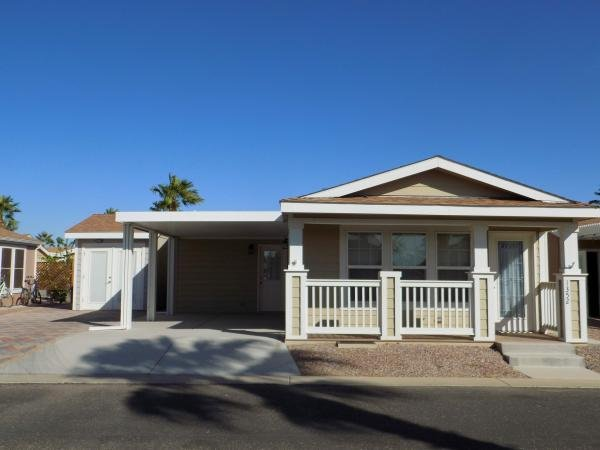 Mobile Home at 1110 North Henness Rd. #1352, Casa Grande, AZ