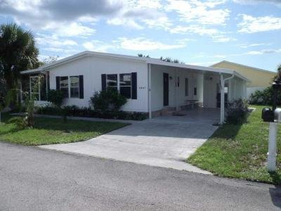 Mobile Home at 5831 River Grove Circle #18 Micco, FL