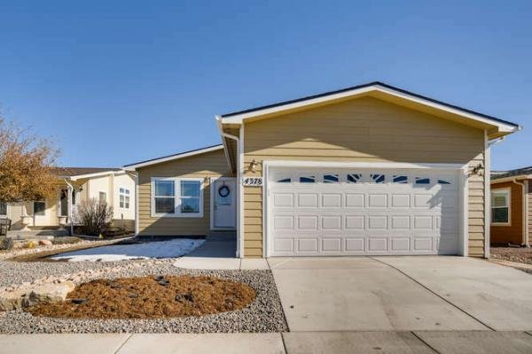 Mobile Home at 4378 Gray Fox Heights Lot GF4378, Colorado Springs, CO