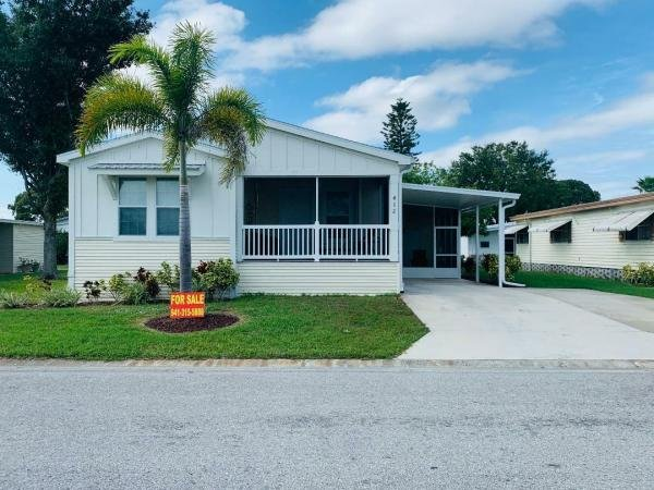Mobile Home at 412 Sunset Circle North, Ellenton, FL