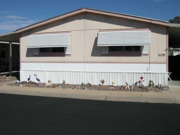 Mobile Home at 8401 S. Kolb Rd. #185, Tucson, AZ