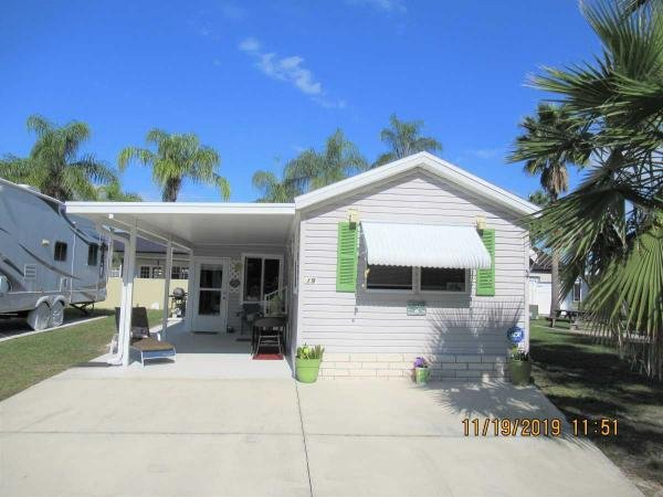 Mobile Home at 37251 Chancey Road, Lot 19, Zephyrhills, FL