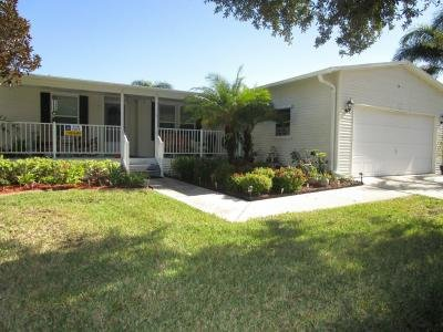 Mobile Home at 1975 EAST LAKEVIEW DRIVE Sebastian, FL 32958