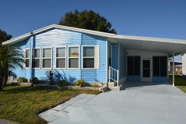 Mobile Home at 1701 W COMMERCE AVE LOT 25, Haines City, FL